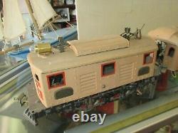 1925 Ives Standard Gauge 3235 Engine with 184 Club Car & 186 Observation Car