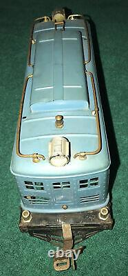 1926 LIONEL 8E ELECTRIC LOCOMOTIVE STD GAUGE Set Passenger & Pullman Cars