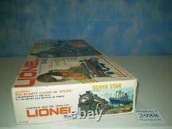 1970's Lionel Trains General Mills No. 6 1183 Silver Star Train Set 0-27 Gauge