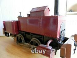 45mm narrow gauge Industrial steam loco electric part kit, part scratch built