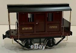 #800 Metropolitan Express Electric Box JAIL Car STANDARD GAUGE Lionel 2 7/8