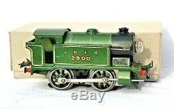 AC1145Vintage Hornby 0 Gauge No1 LNER 0-4-0 Electric Tank Locomotive No 2900