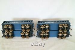AC1467 Vintage Sakai/Seki 0 Gauge 2-6-0 Electric Locomotive Tender & Coaches