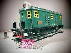 AMERICAN FLYER No. 4000 GREEN BOXCAB STANDARD GAUGE LOCOMOTIVE TESTED