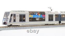 AUSICION MODELS HO gauge NPS-13 Tangara T6 formation City Rail 4-car set motor