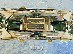American Flyer 4689 Presidents Spec by Varney-Sirus Chrome Wide Gauge Locomotive