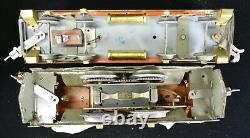 American Flyer Prewar Wide Gauge Statesman Engine and One Passenger Car Set