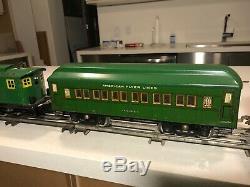 American Flyer wide gauge train 1927-1928
