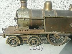Antique 2.5 Gauge Locomotive Steam Tank Engine Electric 3 Rail German