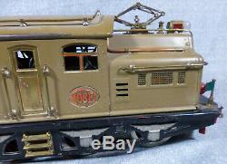 Antique Lionel Early Pre-War Dual Motor Standard Gauge 408E Locomotive