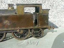 Antique Locomotive Steam Tank Engine G3 2.5 Gauge Electric 3 Rail German