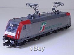 Arnold N Gauge FS Electric Loco Class E 483 Red Silver MERCITALIA RAIL HN2435