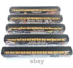 Bachman Hawthorne Village HO Gauge Nascar Dale Earnhardt Train Cars Lot Of 5