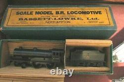 Bassett Lowke O gauge B. R Green Prince Charles 62453 Very good 3 rail elec