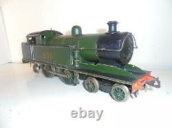 Bing/Bassett Lowke-Gauge One-Southern 4-4-2Tank Olive Green-3rail electric c1926