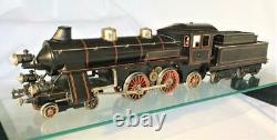 Bing Gauge 1 3-Rail Electric German Wiindcutter 4-4-2 Loco & Tender Exc Condtn