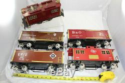 CMT Modern Standard Gauge PRR Boxcab Electric 2-4-2 Freight Set