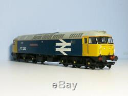 DCC Fitted Bachmann 1/76 OO Gauge Class 47 BR Large Loco Blue 47535 31-650