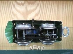 Dorfan O Gauge 99-100 Clockwork Loco with One Pullman Car c. 1925 EX
