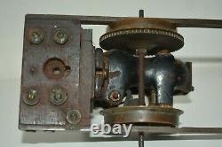 Early Period Antique Prewar Gauge 2 Marklin Train Track Ajax Electric Motor C&F
