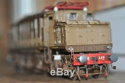 FS electric loco 626 445 Number 21 from 76 Brassmodell 6 motors Spur 0 gauge 0