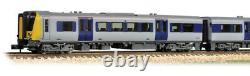 Farish N gauge 4 Car Class 350/1 Desiro EMU 350111 Apollo Silverlink (unbranded)