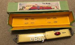 French Hornby O Gauge Bugatti Auto Rail Superb Boxed 20 Volt Electric