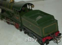 HORNBY O GAUGE No 1 SPECIAL LOCOMOTIVE AND TENDER IN GWR GREEN LIVEREY