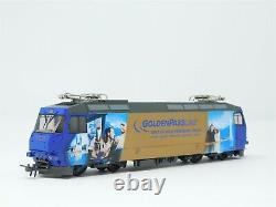 HOm Gauge Bemo 1259322 Golden Pass MOB Ge 4/4 8002 Werbelok Electric Locomotive