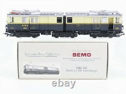 HOm Gauge Bemo 1282301 MOB Montreux Oberland Bernois FZe 6/6 2001 Electric Loco