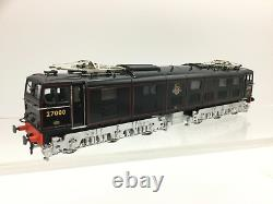 Heljan 77001 OO Gauge BR Glass Black EM2 Electric Loco 27000