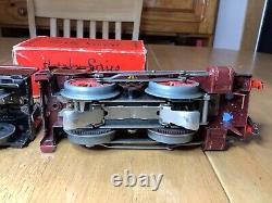 Hornby O Gauge 20 Volt Electric E120 Special LMS 0-4-0 Tender Loco 2700