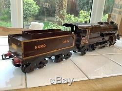 Hornby O Gauge 6 Volt Electric No. 3E 4-4-2 Nord Riviera Blue Locomotive