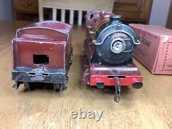 Hornby O Gauge E120 20 Volt Electric No. 1 Special LMS 0-4-0 Tender Loco 8712