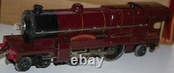 Hornby O Gauge Electric Royal Scot Locomotive Boxed In Lms Red Livery