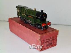 Hornby O Gauge No. 3C 4-4-2 Locomotive Caerphilly Castle Boxed
