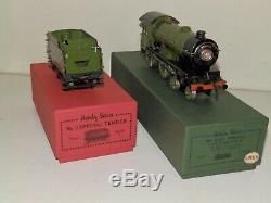 Hornby O gauge Bramham Moor 20v electric Loco & Tender