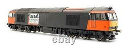 Hornby'oo' Gauge R2489 Loadhaul Co-co Class 60 Diesel Electric DCC Sound