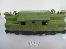 IVES Prewar Standard Gauge Scarce 3243R Electric Locomotive! Brass Trim