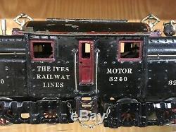 Ives 1 Gauge 3240 Locomotive c. 1912-6 VG to EX
