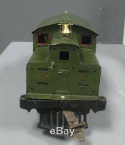Ives 3241S Standard Gauge Tinplate Electric Locomotive and Passenger Set