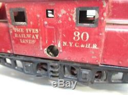 Ives No 30 NYCHR Electric Type Loco Windup Prewar O Gauge X3860