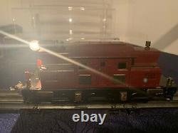 Ives O gauge 3254 electric locomotive with two parlor cars and 136 observation