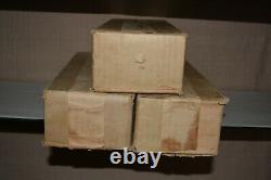 Ives Prewar 1616 O Gauge Vintage Train Set 1694,1695,1696,1697 Original Boxes