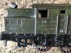 Ives Standard Gauge 3241 Nyc & Hr Electric Locomotive