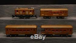 Ives Standard Gauge 701-1 Electric Passenger Set