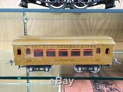 Ives Standard Gauge Light Brown 692R Set SB with 3236 Loco, 170, 171, 172 c. 1925