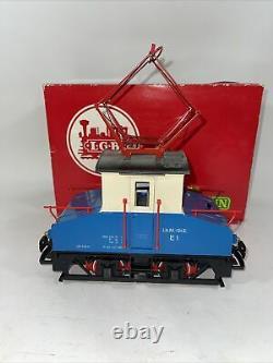 LGB 2030 E G Gauge Steeple Cab Electric Locomotive Tested Original Box Germany