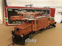 LGB 2040 RHB Krokodil Crocodile Electric Locomotive W Box G Gauge PRICED TO SELL