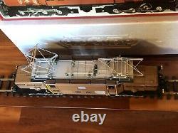 LGB 2040 RhB Brown Crocodile Electric Engine G-Gauge Display